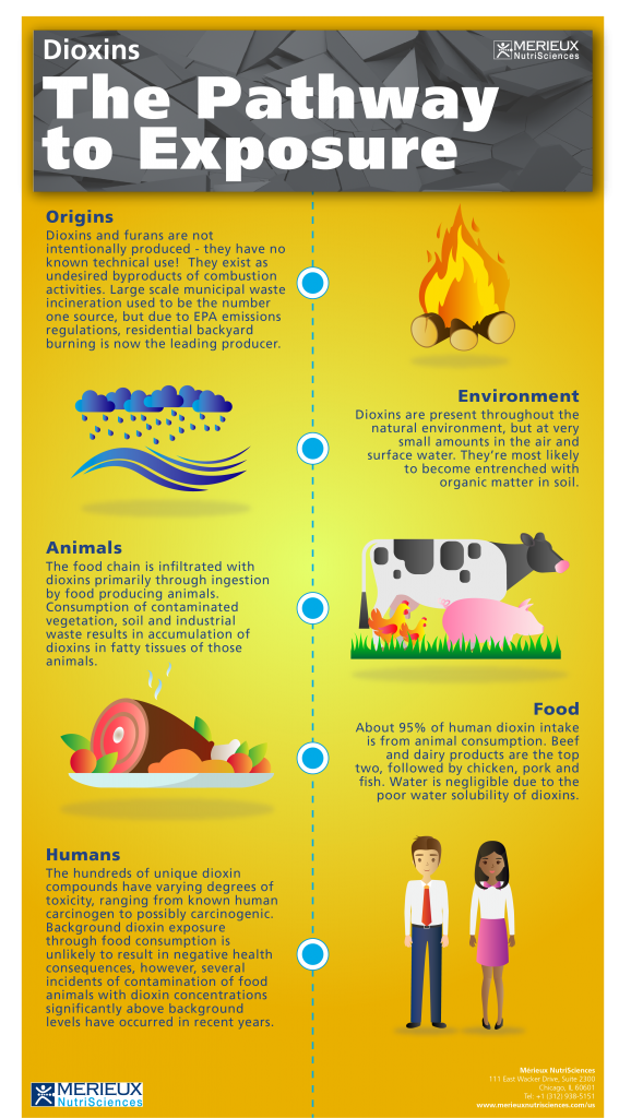 Breaking Down the Dioxins Pathway to Exposure | Food Safety